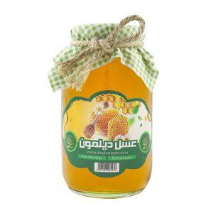 عسل چهل گیاه دیلمون شیشه 1 کیلوگرمی