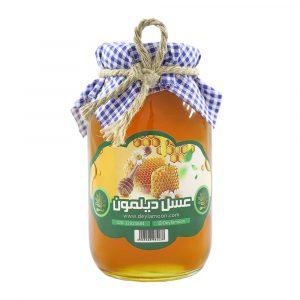 عسل کنار دیلمون شیشه 1 کیلوگرمی