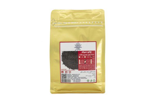 چای سیاه وبهارنارنج وگل محمدی